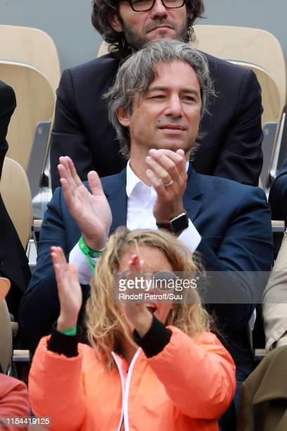 Laurent Solly attends the 2019 French Tennis Open Day Thirteen at Roland Garros on June 07 2019 in Paris France