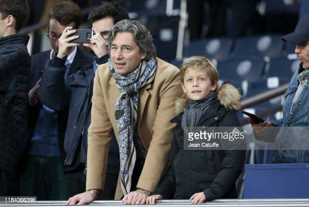 Laurent Solly General Director of Facebook France attends the Ligue 1 match between Paris SaintGermain and Olympique de Marseille at Parc des Princes...