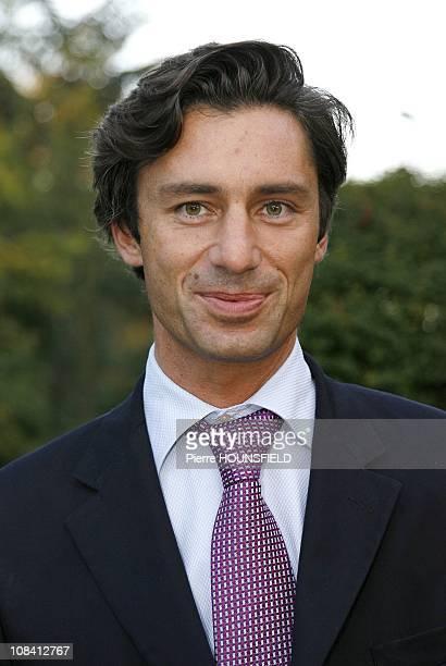 Laurent Solly in Paris France on September 13 2007