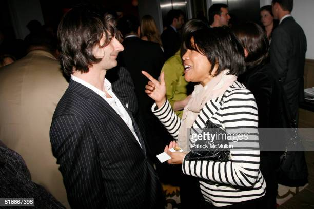 Laurent Vernhes and Lynn Whitfield attend TABLET 10 MAGAZINE Launch at Crosby Hotel on April 15 2010 in New York