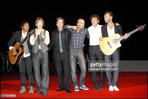 Laurent Voulzy Jane Birkin Thomas Dutronc Ours Charles Souchon Alain Souchon Pierre Souchon at 6th Charity Gala Of Ifrad Against Alzheimer 's Disease...