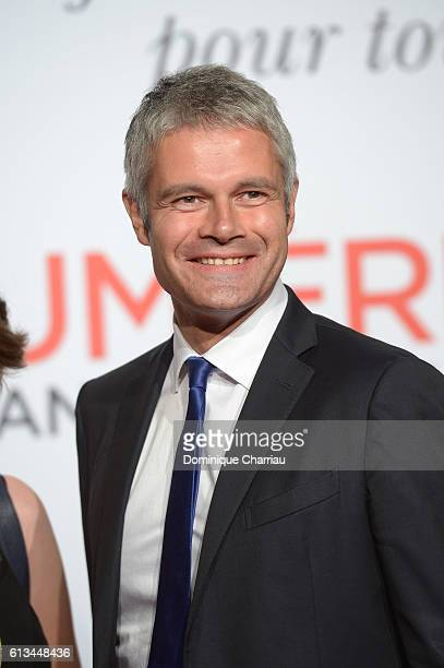 Laurent Wauquiez attends the opening ceremony of the 8th Film Festival Lumiere on October 8 2016 in Lyon France