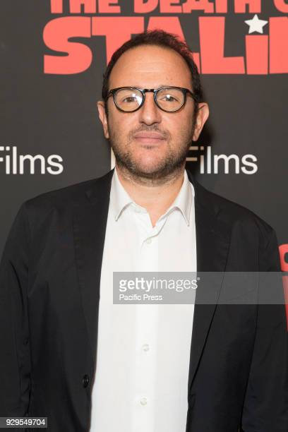 Laurent Zeitoun attends New York premiere of IFC Film Death of Stalin at AMC Lincoln Square