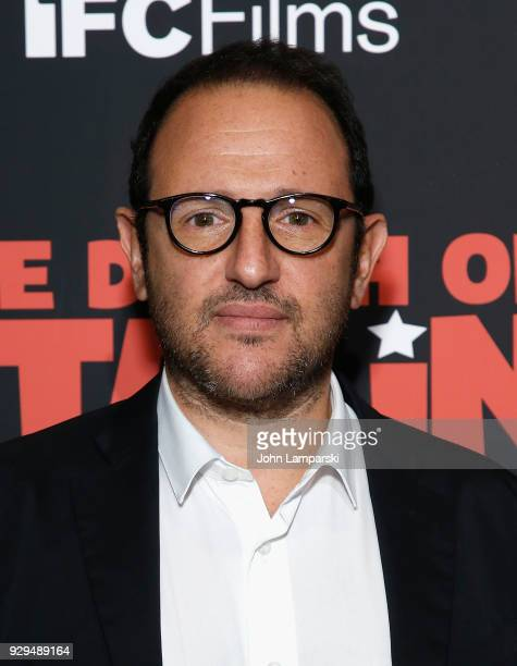 Laurent Zeitoun attends 'The Death Of Stalin' New York premiere at AMC Lincoln Square Theater on March 8 2018 in New York City