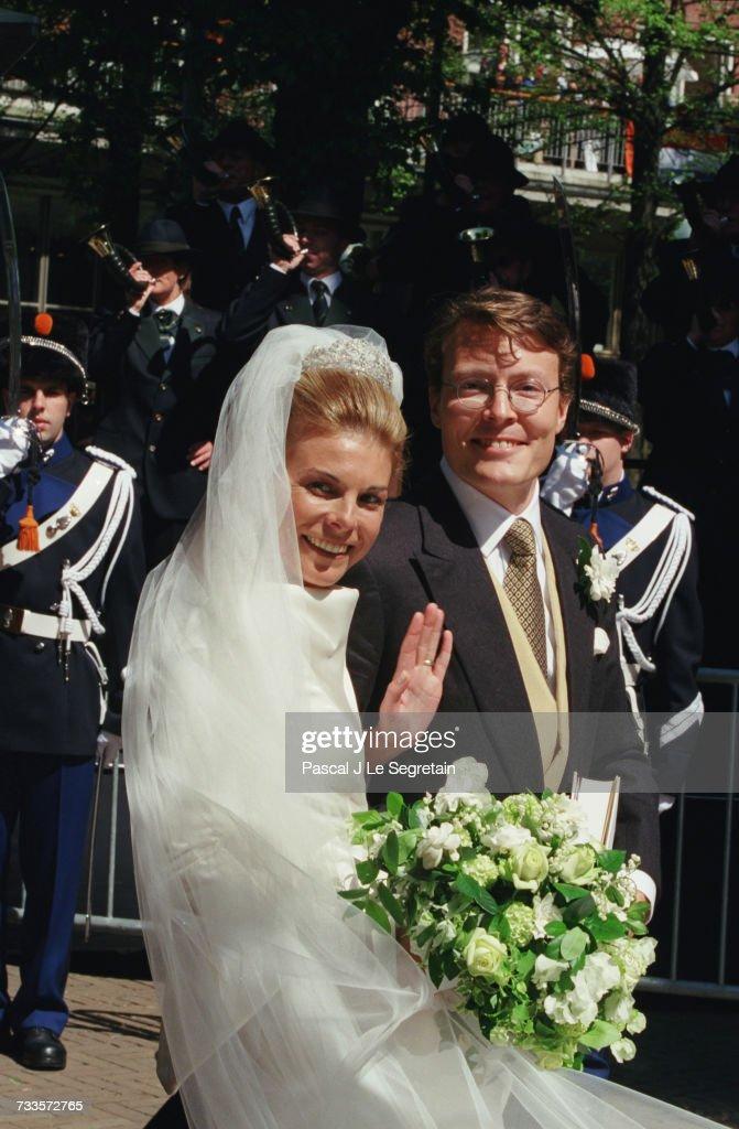 THE HAGUE: ROYAL WEDDING FOR PRINCE CONSTANTIJN : Nieuwsfoto's