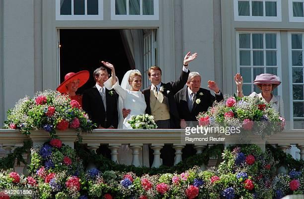 Laurentien Brinkhorst and Prince Constantijn of the Netherlands.