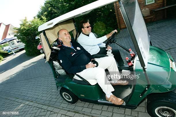 Laurenz Meyer Fahrer 1 PromiGolfTurnier GoodHopeGolfCup der Stiftung Good Hoe Centre Golfclub Teutoburger Wald Halle NordrheinWestfalen Deutschland...