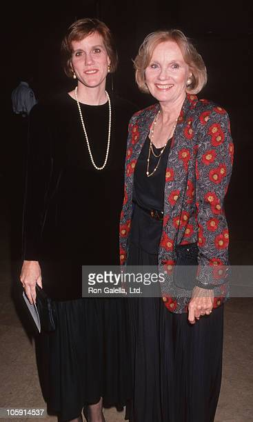 Laurette Hayden and Eva Marie Saint during 2nd Annual Fire and Ice Ball to Benefit Revlon UCLA Women Cancer Center at Beverly Hilton Hotel in Beverly...