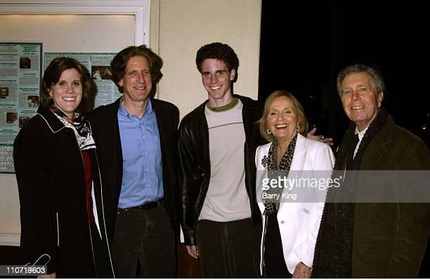 Laurette Hayden, Miles Beller, Eli Beller, Eva Marie Saint and Jeffrey Hayden