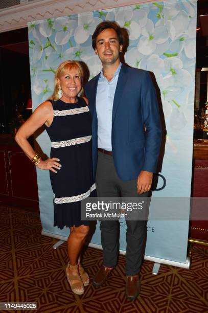 Laurette Kittle and Cody Kittle attend Deborah Goodrich Royce's Finding Mrs Ford Book Launch at Doubles on June 11 2019 in New York City