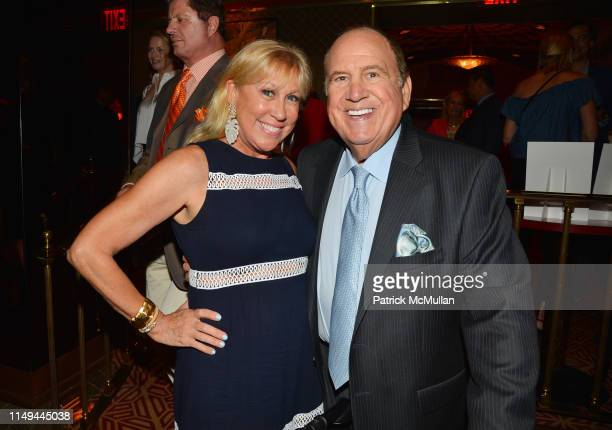 Laurette Kittle and Michael Kovner attend Deborah Goodrich Royce's Finding Mrs Ford Book Launch at Doubles on June 11 2019 in New York City