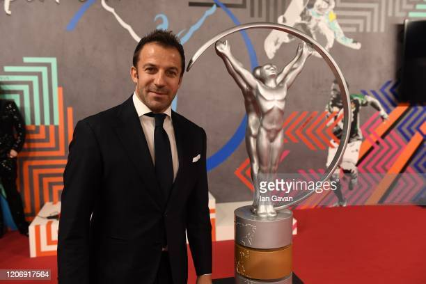 Laureus Academy Alessandro Del Piero attends the 2020 Laureus World Sports Awards at Verti Music Hall on February 17 2020 in Berlin Germany