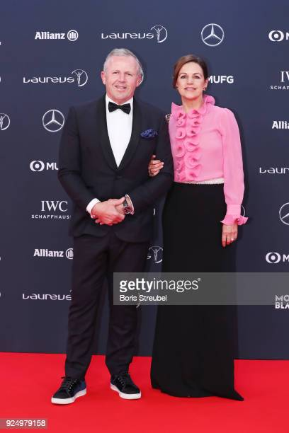 Laureus Academy Chairman Sean Fitzpatrick attends the 2018 Laureus World Sports Awards at Salle des Etoiles Sporting MonteCarlo on February 27 2018...