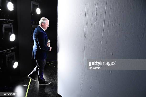 Laureus Academy Chairman Sean Fitzpatrick backstage during the 2020 Laureus World Sports Awards at Verti Music Hall on February 17 2020 in Berlin...