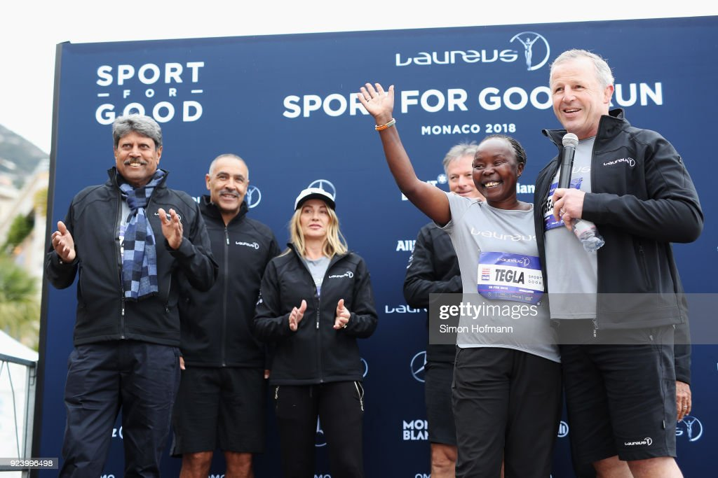 Laureus Sport for Good Run - 2018 Laureus World Sports Awards - Monaco