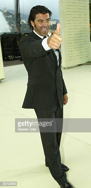 Laureus Academy member Alberto Tomba arrives on May 19 2003 at the Laureus Sport for Good Foundation Dinner and Auction held at the Monte Carlo...