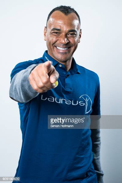 Laureus Academy member Cafu poses prior to the 2018 Laureus World Sports Awards at Le Meridien Beach Plaza Hotel on February 26 2018 in Monaco Monaco