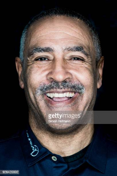 Laureus Academy member Daley Thompson poses prior to the 2018 Laureus World Sports Awards at Le Meridien Beach Plaza Hotel on February 26 2018 in...