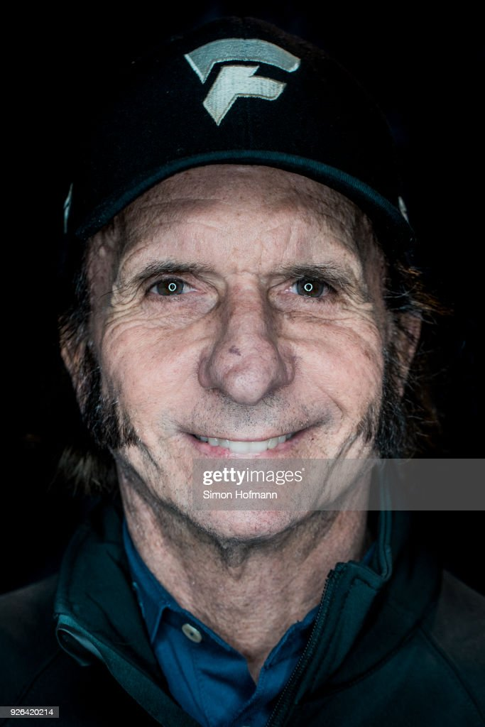 Laureus Academy member Emerson Fittipaldi poses prior to the 2018 Laureus World Sports Awards at Le Meridien Beach Plaza Hotel on February 26, 2018 in Monaco, Monaco.