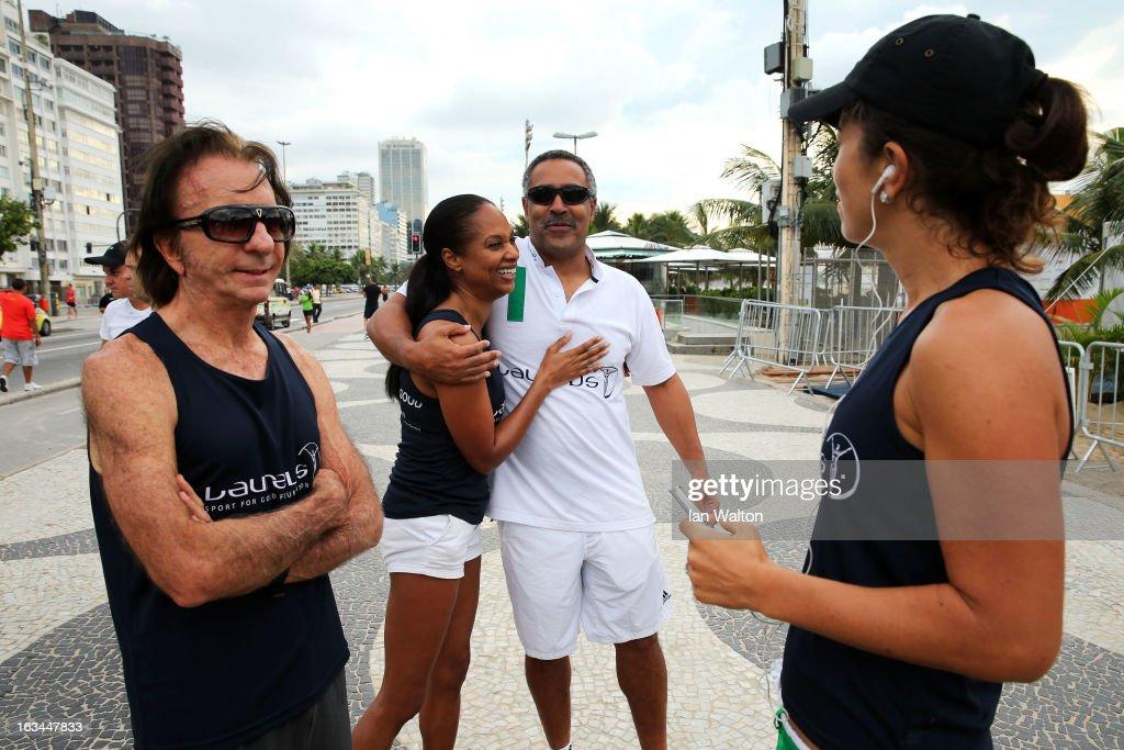 Laureus Run Copacabana Beach -2013 Laureus World Sports Awards