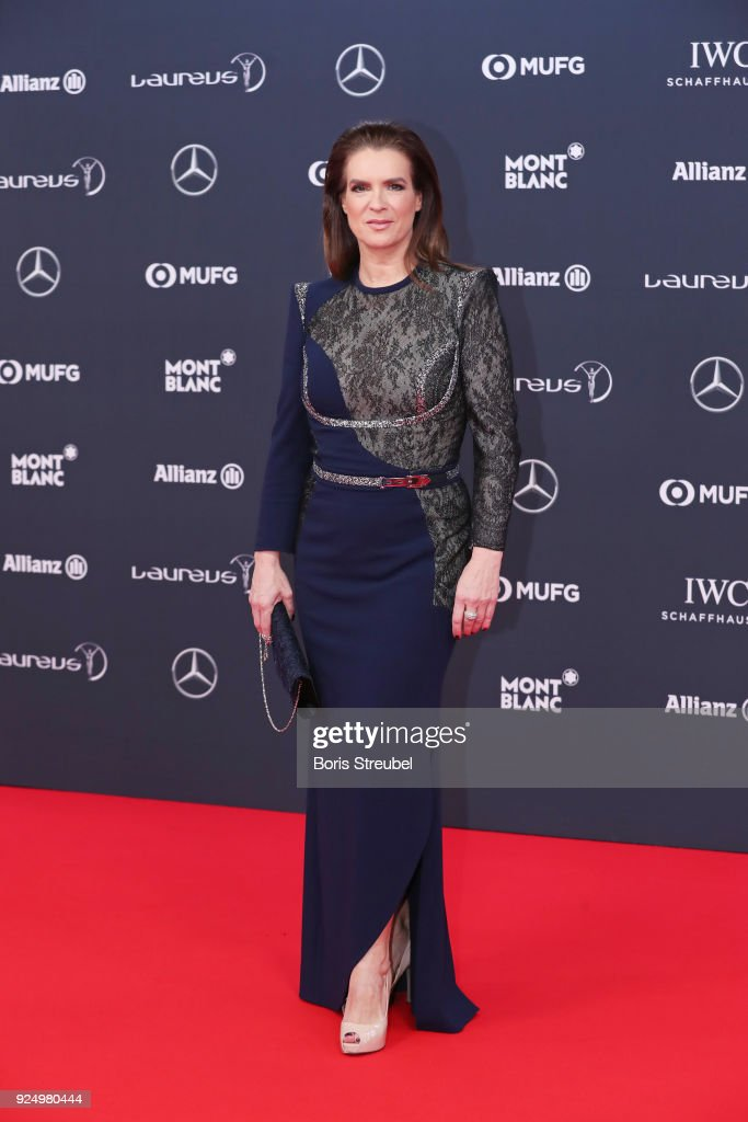 Red Carpet - 2018 Laureus World Sports Awards - Monaco : Foto jornalística