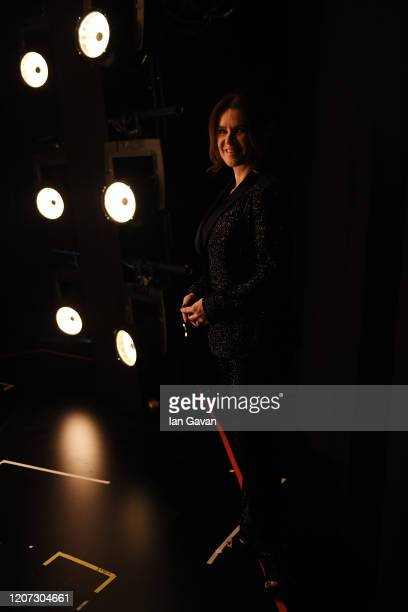 Laureus Academy Member Katarina Witt waits backstage during the 2020 Laureus World Sports Awards at Verti Music Hall on February 17 2020 in Berlin...
