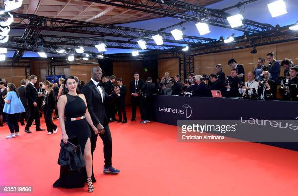 Laureus Academy member Michael Johnson attends the 2017 Laureus World Sports Awards at the Salle des EtoilesSporting Monte Carlo on February 14 2017...