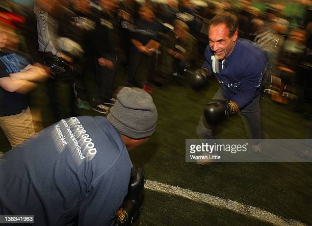Laureus Academy member Mike Horn attends the Laureus Sport for Good Youth Festival at Millwall Football Club's Lions Centre ahead of the 2012 Laureus...