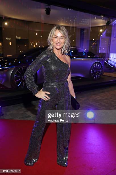 Laureus Academy Member Nadia Comaneci attends the 2020 Laureus World Sports Awards at Verti Music Hall on February 17 2020 in Berlin Germany