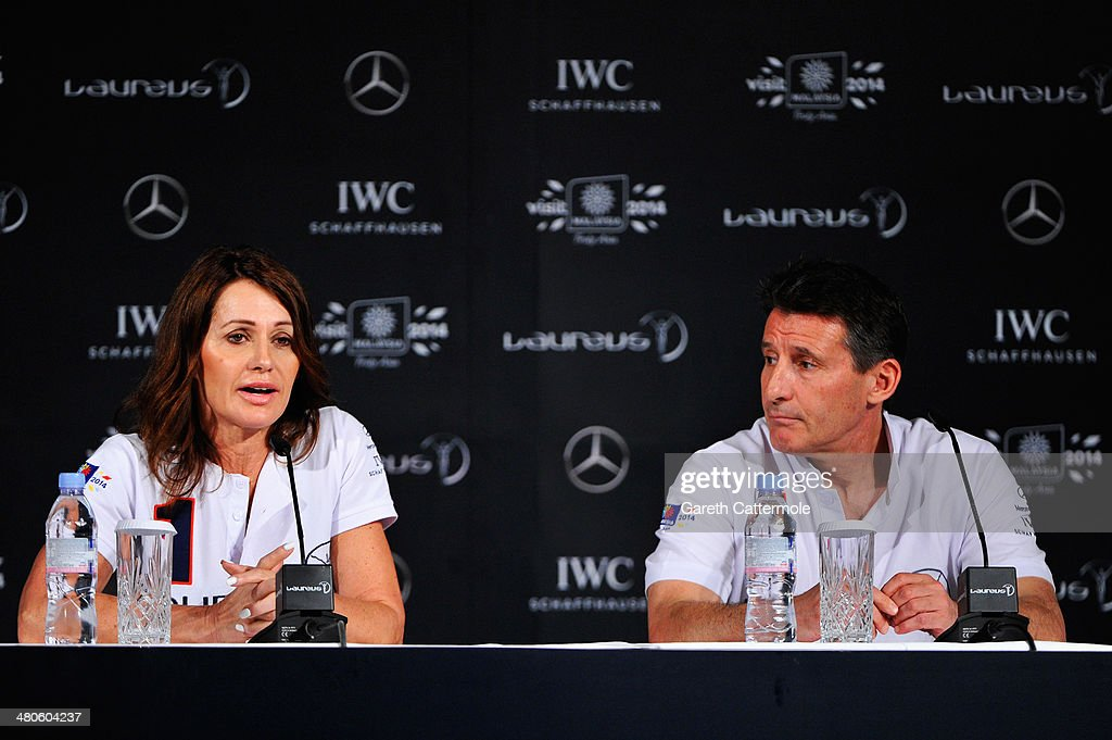 Laureus Academy member Nadia Comaneci speaks at the Fifteen Years of Laureus Press Conference ahead of the 2014 Laureus World Sports Awards at the Shangri-la Hotel on March 26, 2014 in Kuala Lumpur, Malaysia.