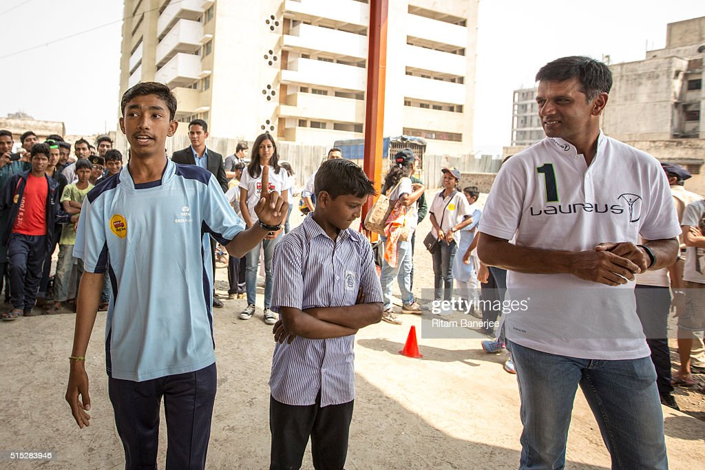 Laureus Real Heroes Project Visit to Magic Bus in India : News Photo