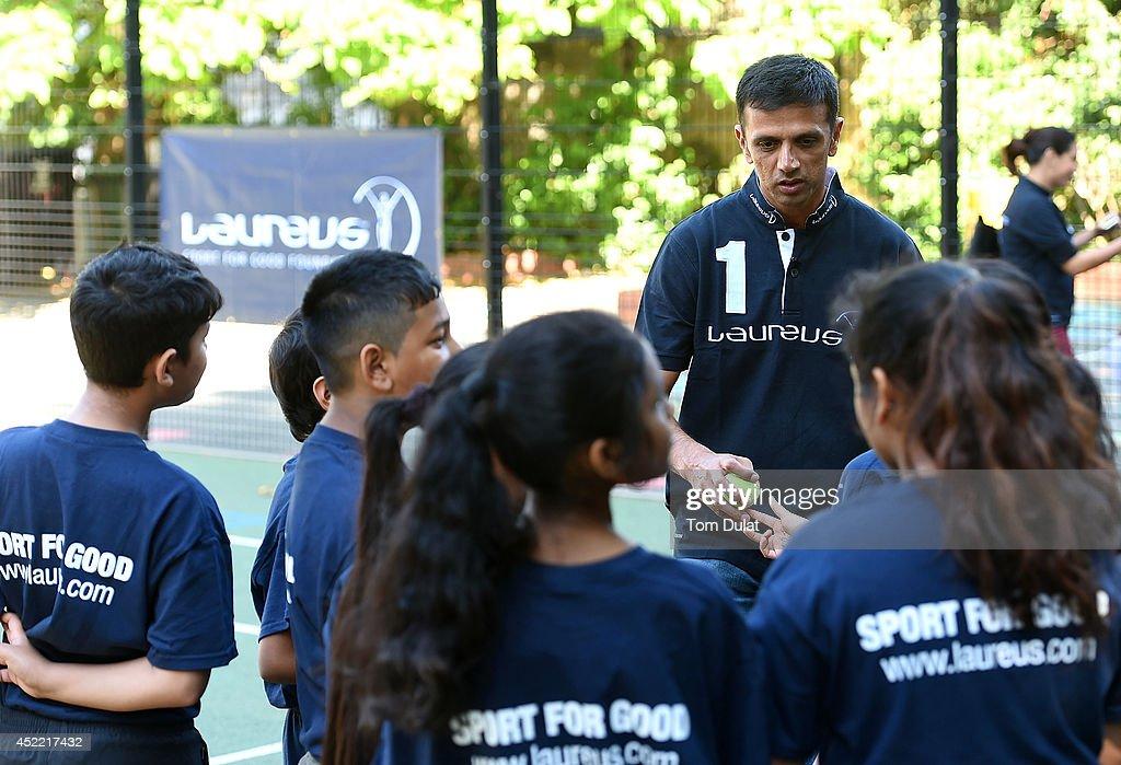 Rahul Dravid Academy Announcement : News Photo