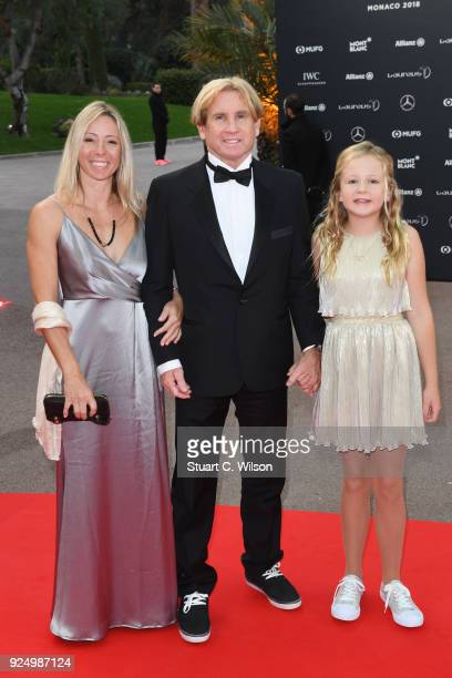 Laureus Academy member Robby Naish and guests attend the 2018 Laureus World Sports Awards at Salle des Etoiles Sporting MonteCarlo on February 27...