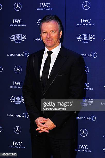 Laureus Academy member Steve Waugh attends the 2014 Laureus World Sports Awards at the Istana Budaya Theatre on March 26 2014 in Kuala Lumpur Malaysia