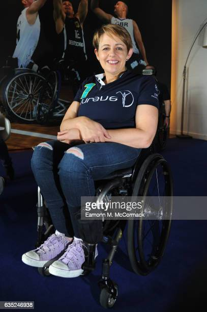 Laureus Academy member Tanni GreyThompson in the Virtual Reality Zone prior to the 2017 Laureus World Sports Awards at the Sea ClubLe Meridien on...