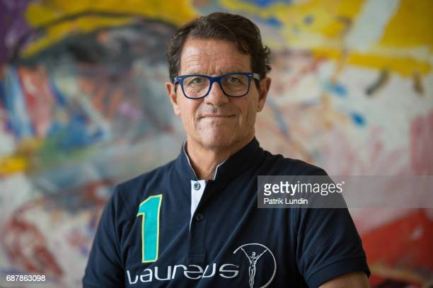 Laureus Ambassador Fabio Capello attend the Laureus European Summit on May 23, 2017 in Stockholm, Sweden.