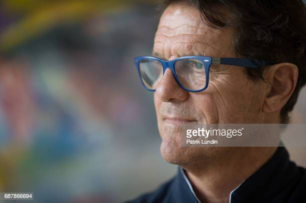 May 23: Laureus Ambassador Fabio Capello attend the Laureus European Summit on May 23, 2017 in Stockholm, Sweden.