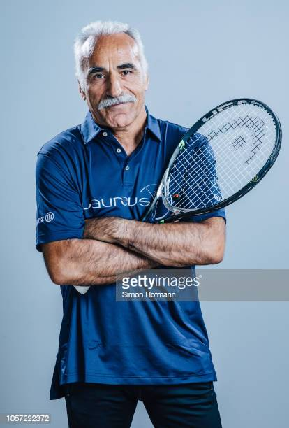 Laureus Ambassador Mansour Bahrami poses for a portrait during the Laureus Sport for Good Global Summit in partnership with Allianz at INSEP on...