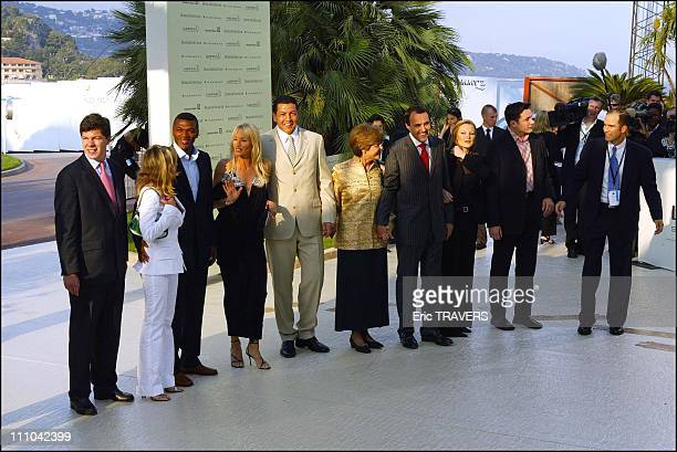 Laureus awards in Monaco city Monaco on May 19 2003