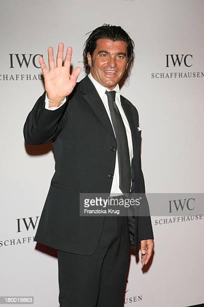 Laureus Mitglied Alberto Tomba Beim Iwc Event 'Serata Di Leonardo' In Der Palexpo Halle In Genf