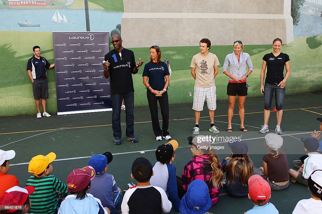 Laureus Sport for Good Project Visit - Sydney