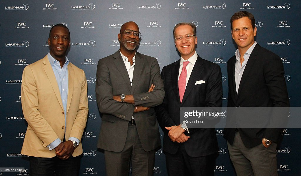 IWC Press Events at Laureus World Sports Awards