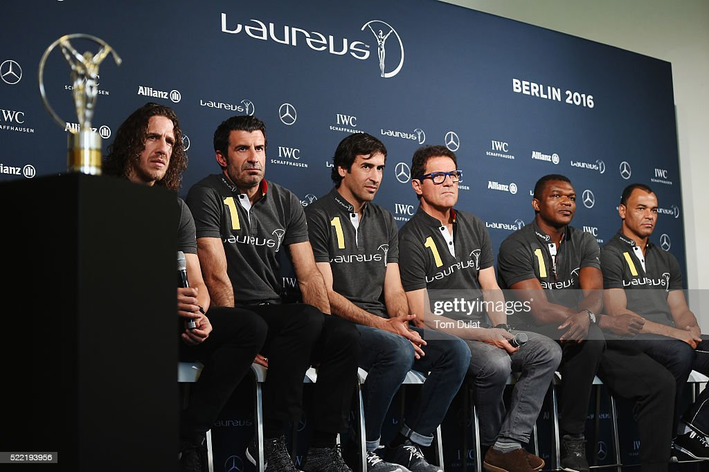 Media Interviews -  2016 Laureus World Sports Awards - Berlin