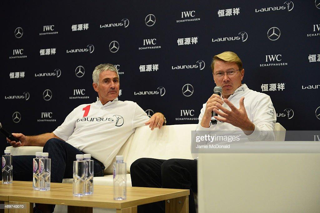 Media Interviews - Laureus World Sports Awards - Shanghai 2015