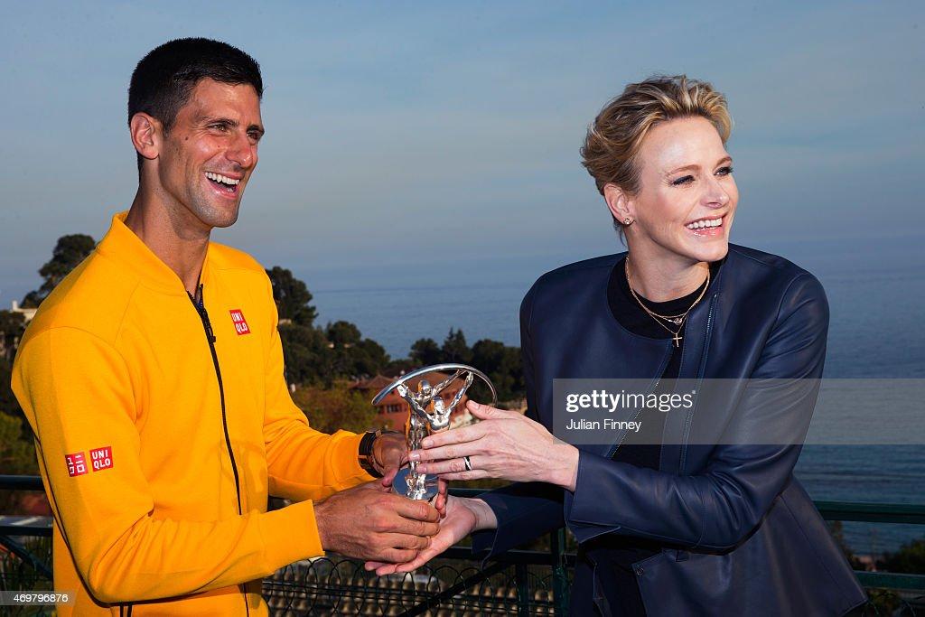 Winners Studio - 2015 Laureus World Sports Awards - Shanghai : News Photo