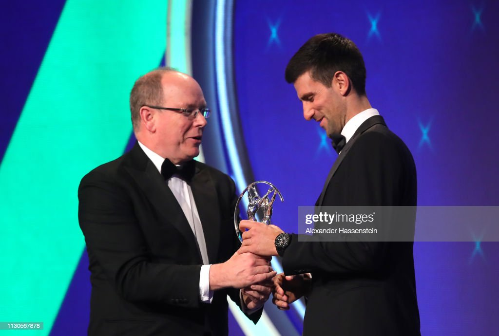 Show - 2019 Laureus World Sports Awards - Monaco : Foto jornalística