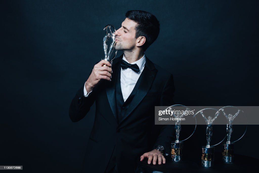 Winners Press Conference and Photocalls - 2019 Laureus World Sports Awards - Monaco : Nachrichtenfoto