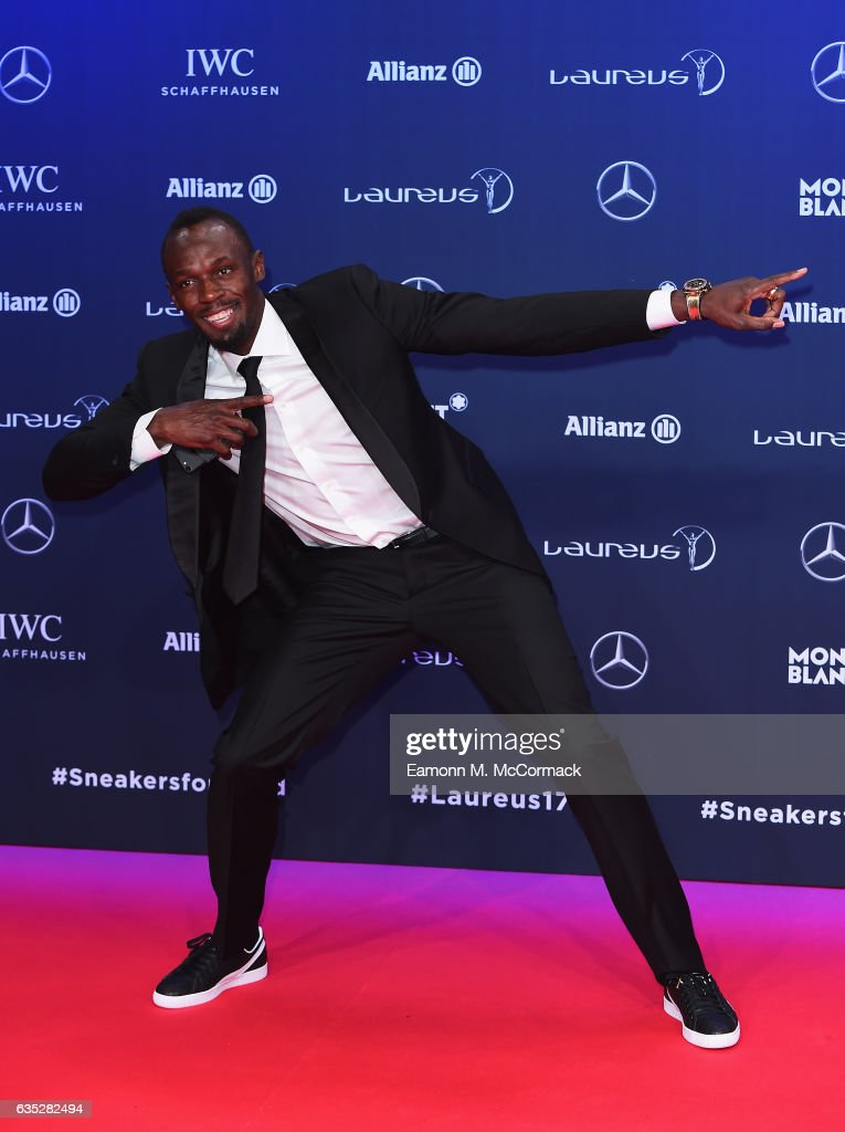 Red Carpet - 2017 Laureus World Sports Awards - Monaco : News Photo