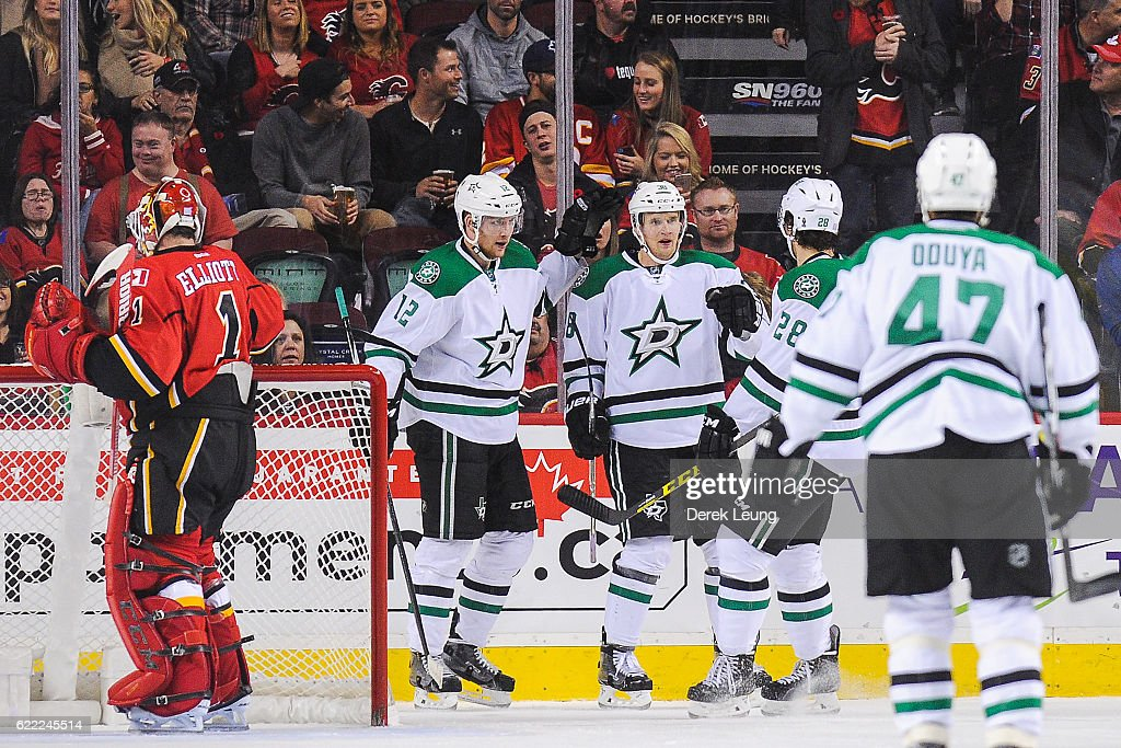 Dallas Stars v Calgary Flames : News Photo