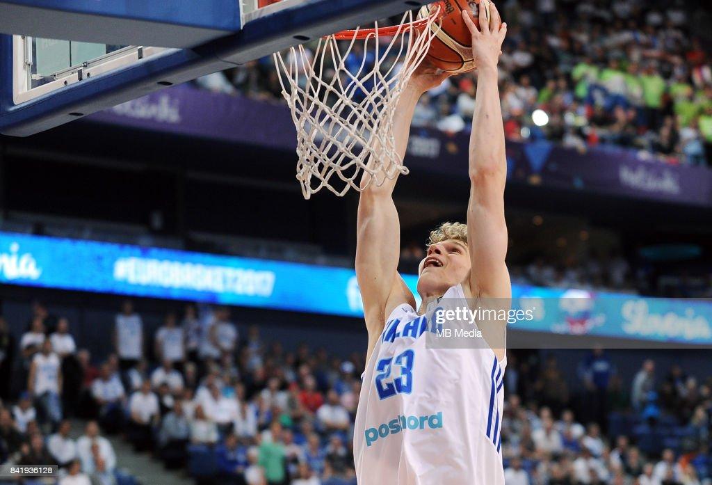 Finland v Slovenia - FIBA Eurobasket 2017: Group A : News Photo